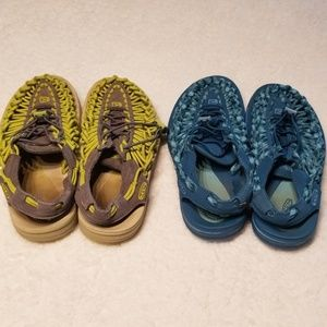 Women's Keen Uneek Size 7 Bundle